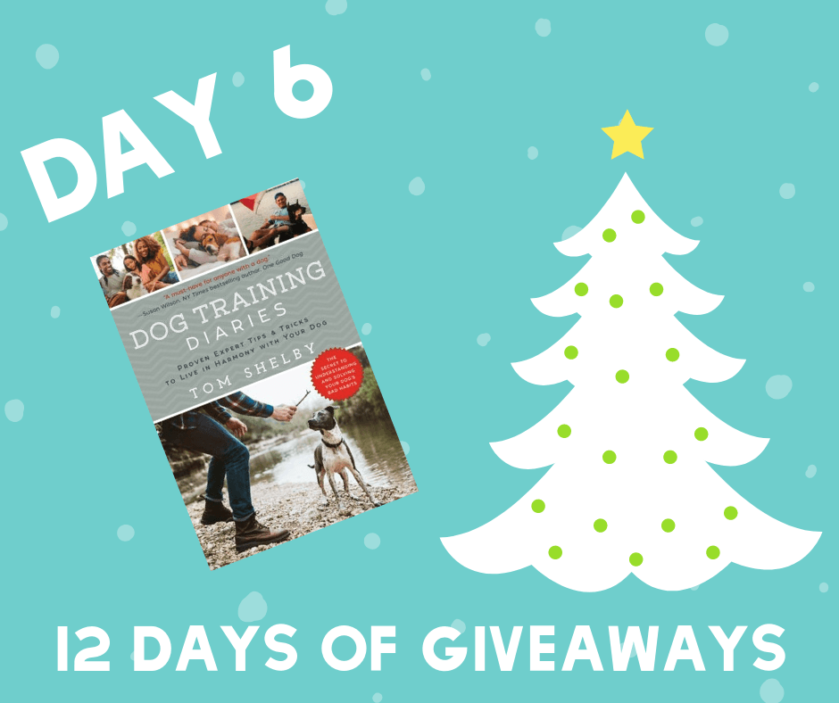 Need a little help with dog training? Enter to win a copy of Tom Shelby's Dog Training Diaries on It's Dog or Nothing!
