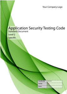 Application Security Standard Testing Code - Level 1 - Generic Image