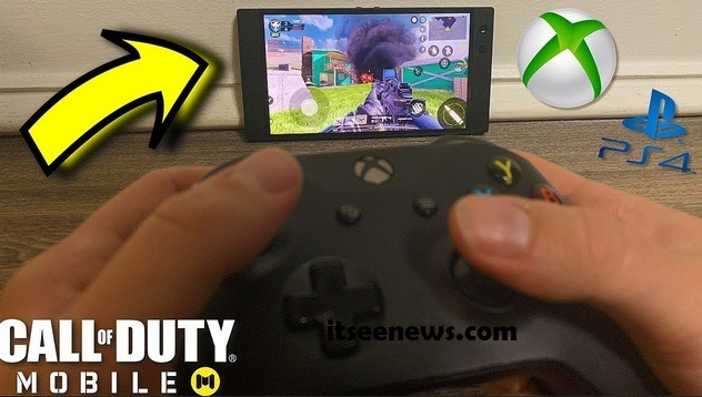 Cara Main Call of Duty Mobile Pakai Stick (Kontroler) PS4 Dan Xbox One