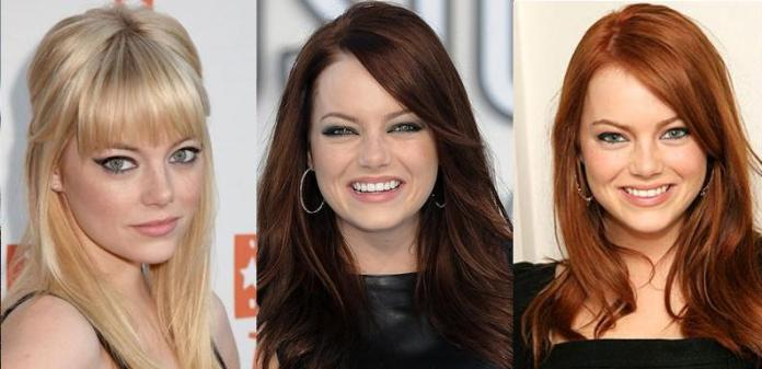 latest hair color trends 2015 Lindsay Lohan