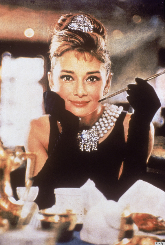 Hepburn In 'Breakfast at Tiffany's'