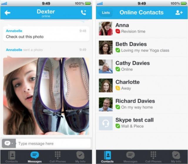 skype messsenger for iphone download
