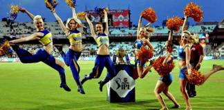 Cheer leaders of IPL 2015