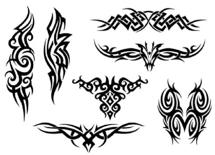 tribal tattoo designs for men on wrist