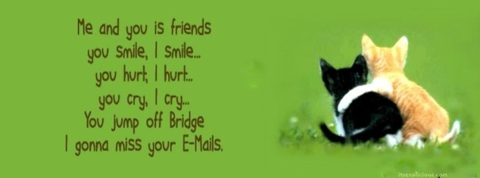 Friendship Quote Facebook Cover
