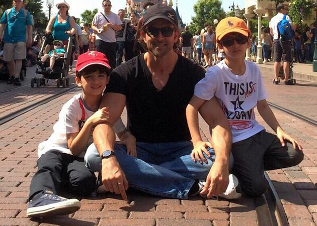 hrithik with his son image