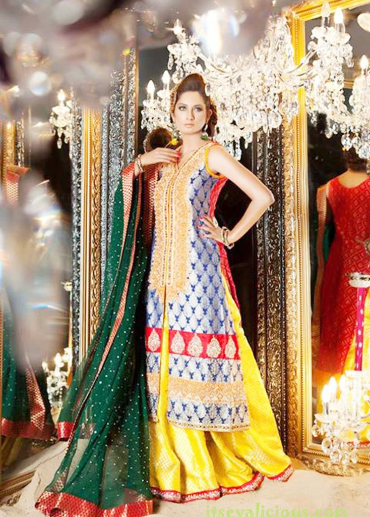 Pakistani Wedding Dresses - Winter-Bridal-Collection-Pakistani