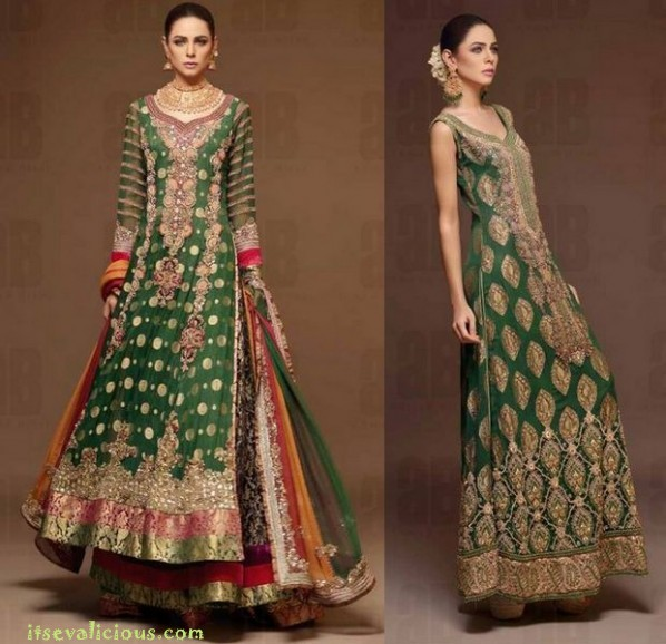 Pakistani Wedding Dresses latest-pakistani-designer-bridal-dresses-2015