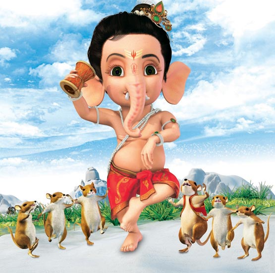 Bal-Ganesh-Cartoon image hd