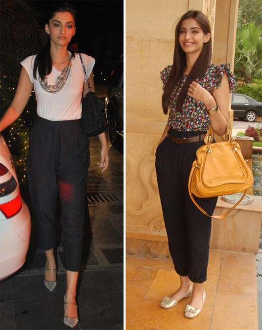 sonam kapoor in casual wear