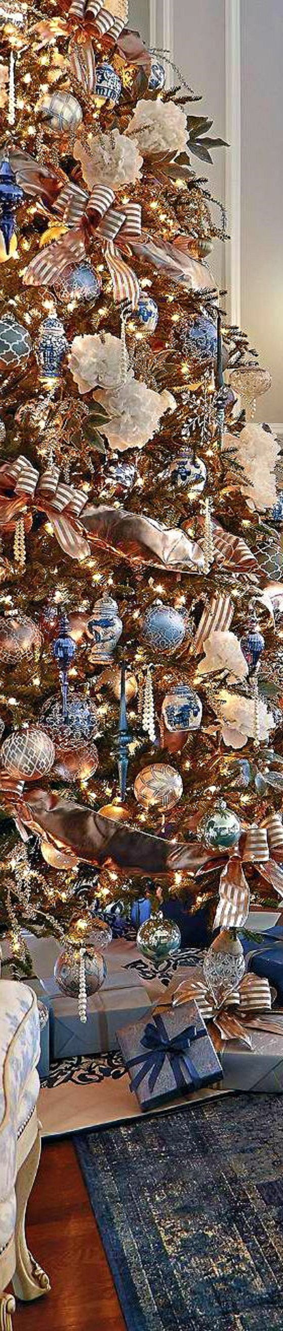 note remember the posts here on its ever christmas are not affiliate posts - Royal Blue And Gold Christmas Decorations