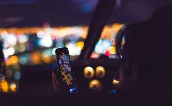 Smartphone usage at night