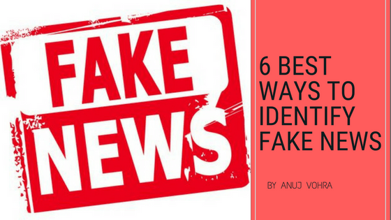 Best Ways to Identify Fake News