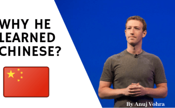 why mark zuckerberg learned Chinese