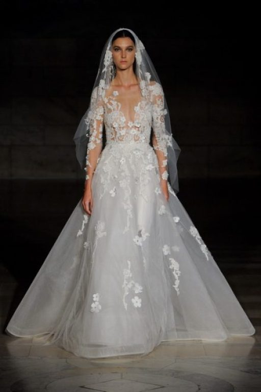 Wedding collection Reem Acra Bridal autumn-winter 2019-2020