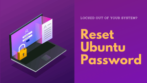 Easily reset Ubuntu password