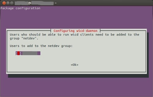 Installing Wicd Network Manager