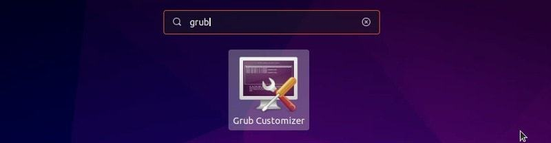 Grub customizer Ubuntu