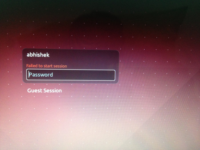 "Fix ""Failed To Start Session"" At Login In Ubuntu 16 04"