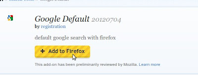 Add Google to Linux Mint Firefox