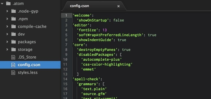 Atom Text Editor for Linux