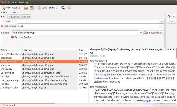 Install SearchMonkey in Ubuntu 14.04