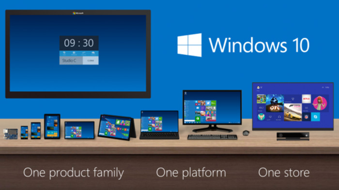 Windows 10 convergence