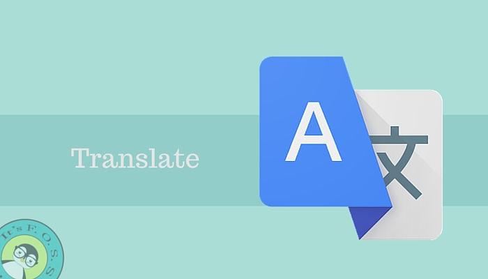 Translate and help open source