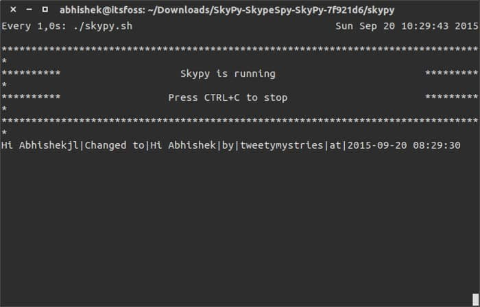 See Skype Edited Chat History In Linux - It's FOSS