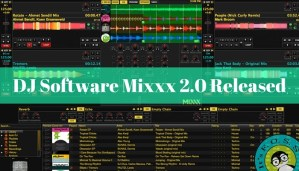 DJ Software Mixxx 2.0