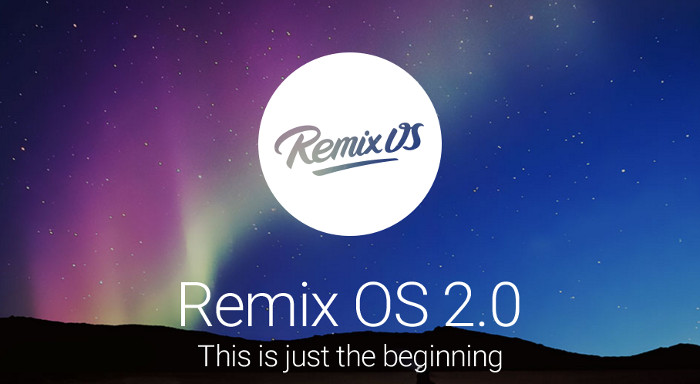 Remix OS is Android on desktop computers