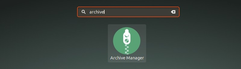 Archive Manager Ubuntu