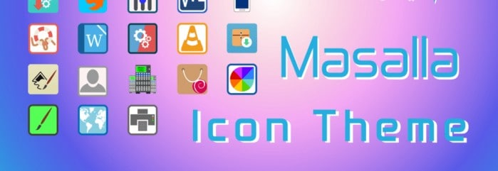 Masalla Icon Theme For Linux