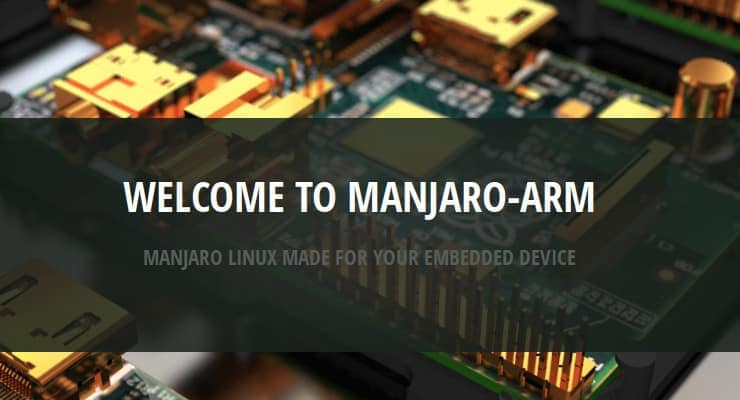 Manjaro Arm is reality