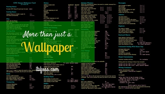 Download Linux Wallpapers That Are Also Cheat Sheets - It's FOSS