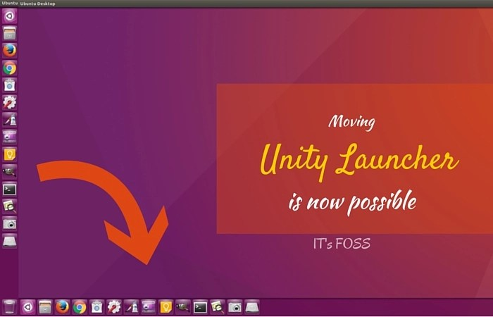 How To Move Ubuntu Unity Launcher