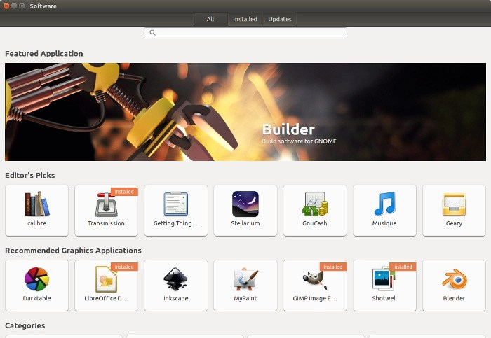New Ubuntu Software Center