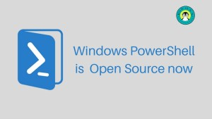 Microsoft PowerShell is Open Source now