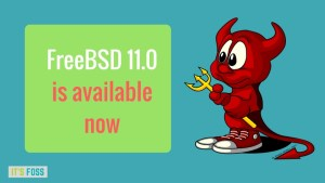 FreeBSD 11.0 Released! Here Are The New Features