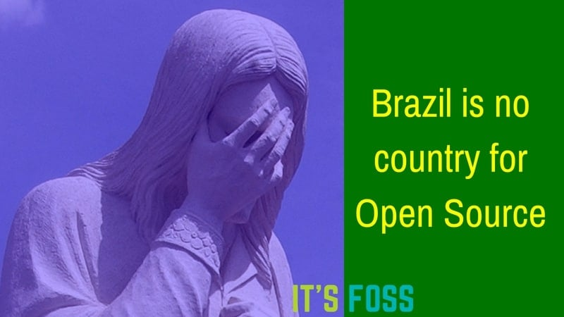 Brazil is getting rid of Open Source for Microsoft