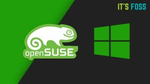 openSUSE is now available on Bash on Windows