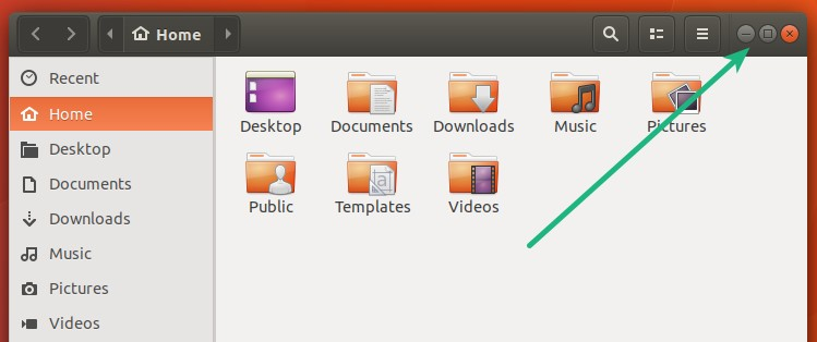 Ubuntu 17.10 new feature: Windows control moved back to right