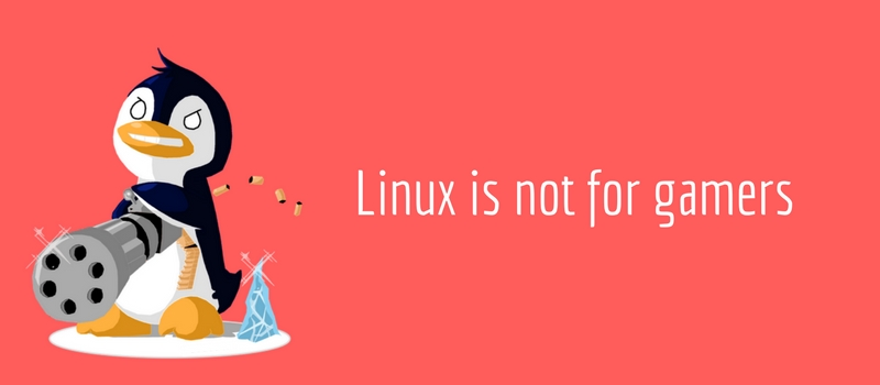 Myth about Linux: Linux doesn't have games