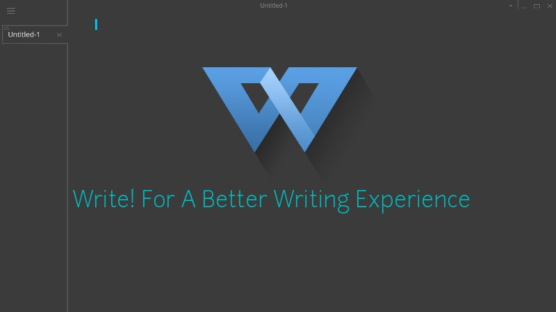 Write! writing app for Linux