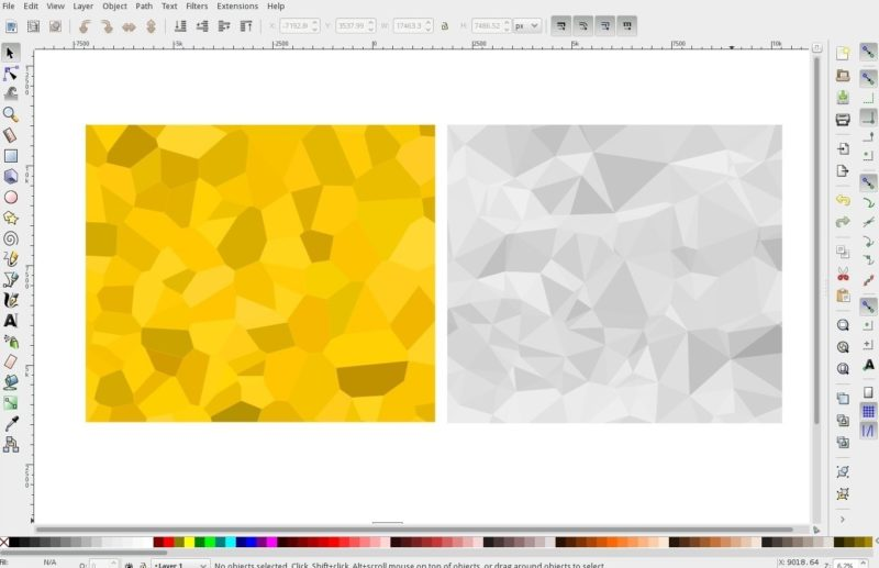 Inkscape is one of the best vector graphic editor for Linux
