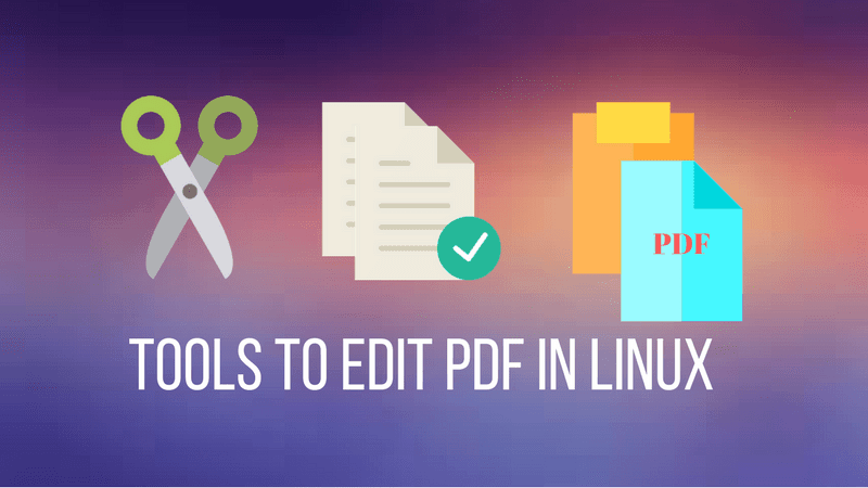 Best software to edit PDF in Linux