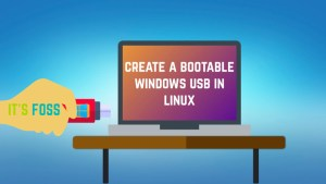How to create bootable Windows 10 USB in Linux