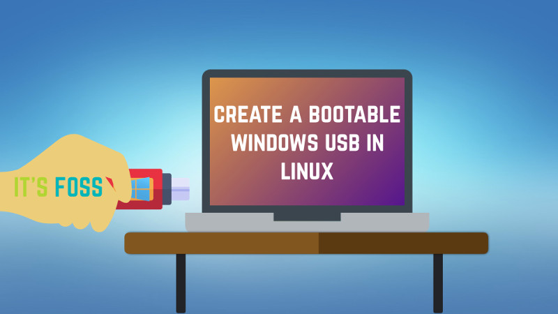 creating a windows 10 boot usb