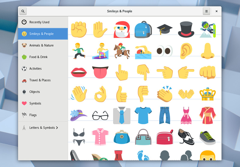 GNOME 3.26 features