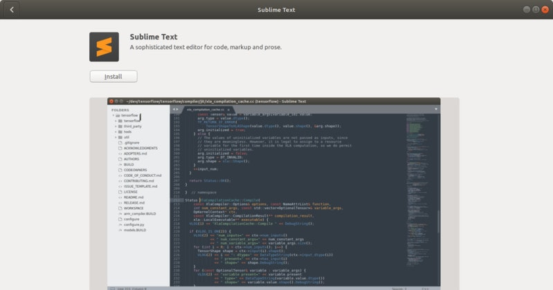 Install sublime text on Ubuntu Linux